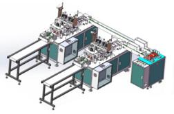 Линия производства медицинских масок WLMM-120
