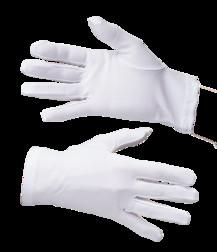 Перчатки женские трикотажные белые Под заказ